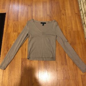 Forever 21 long sleeve (cropped)